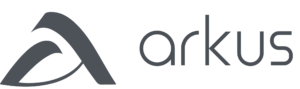 Arkus logo grey